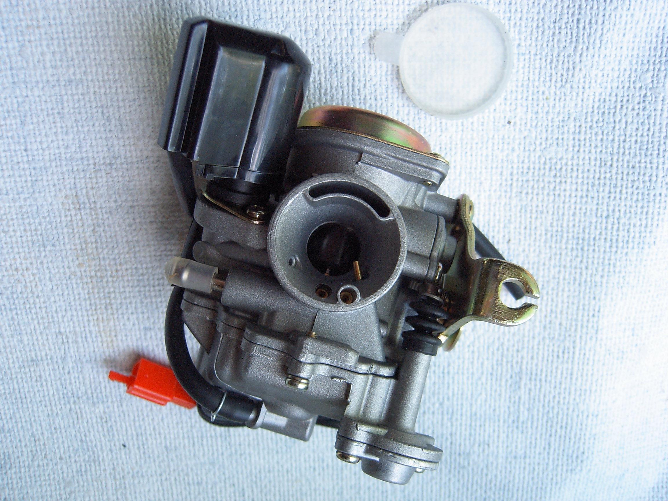 Система бензопровода скутера 4т схема