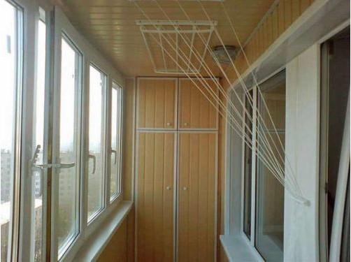 Сушилка на балкон своими руками