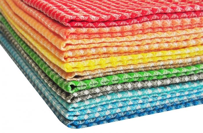 Почему вафельные полотенца не теряют своей популярности